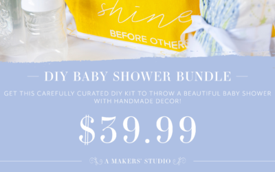 DIY Baby Shower Bundle Promo & Copy